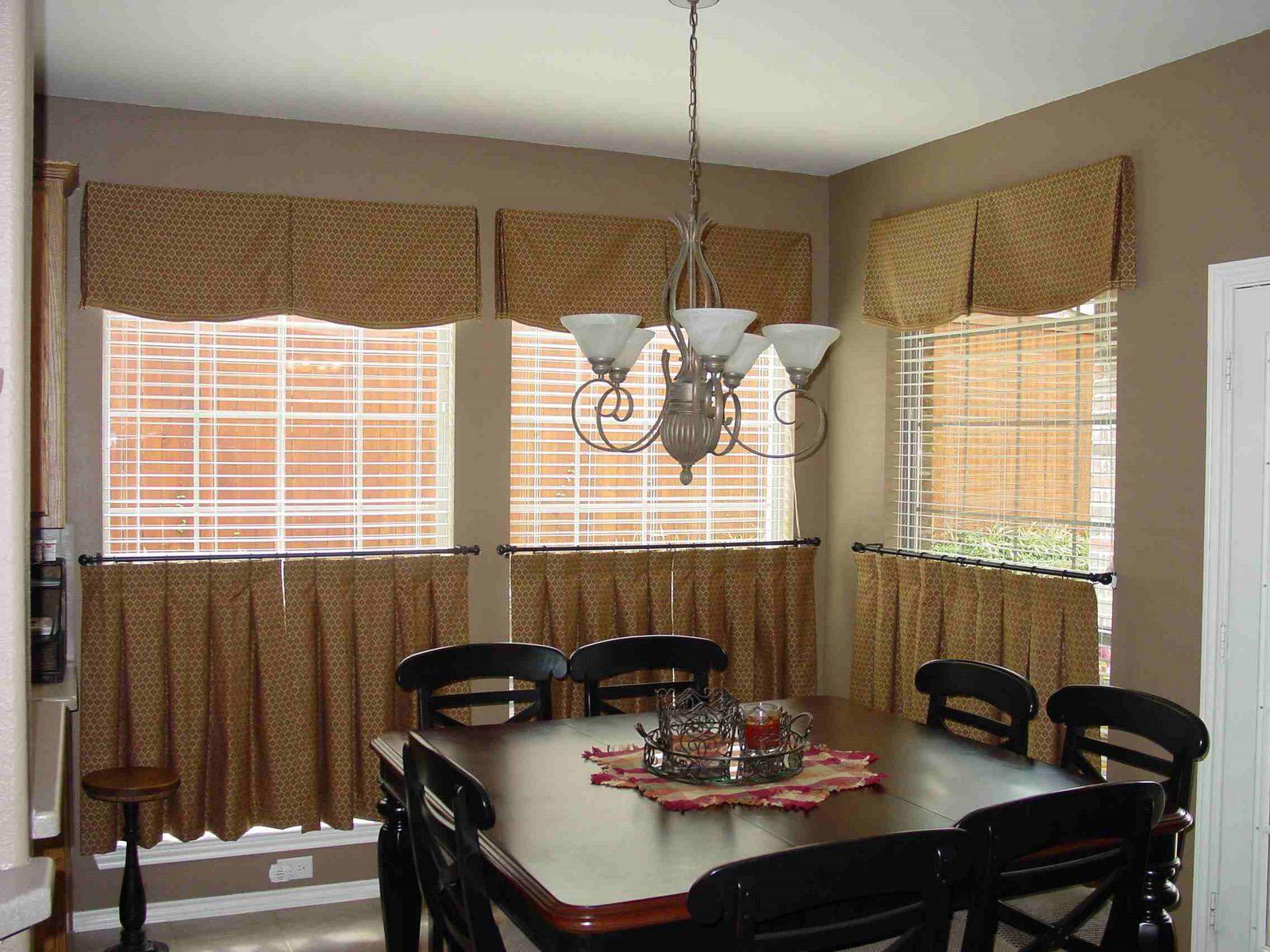 Дизайн штор в кафе фото